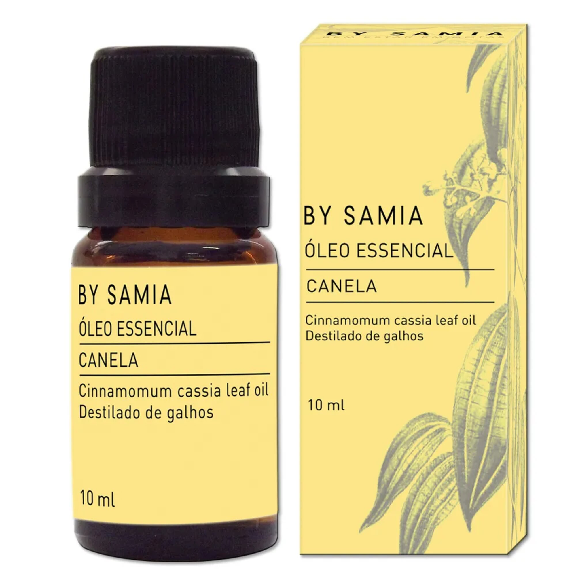 Óleo Essencial Canela 10mL By Samia