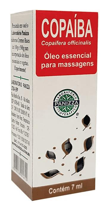 Óleo Essencial Copaíba 7mL Panizza