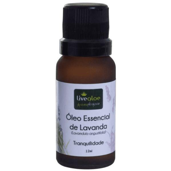 Óleo Essencial de Lavanda 12 mL Live Aloe