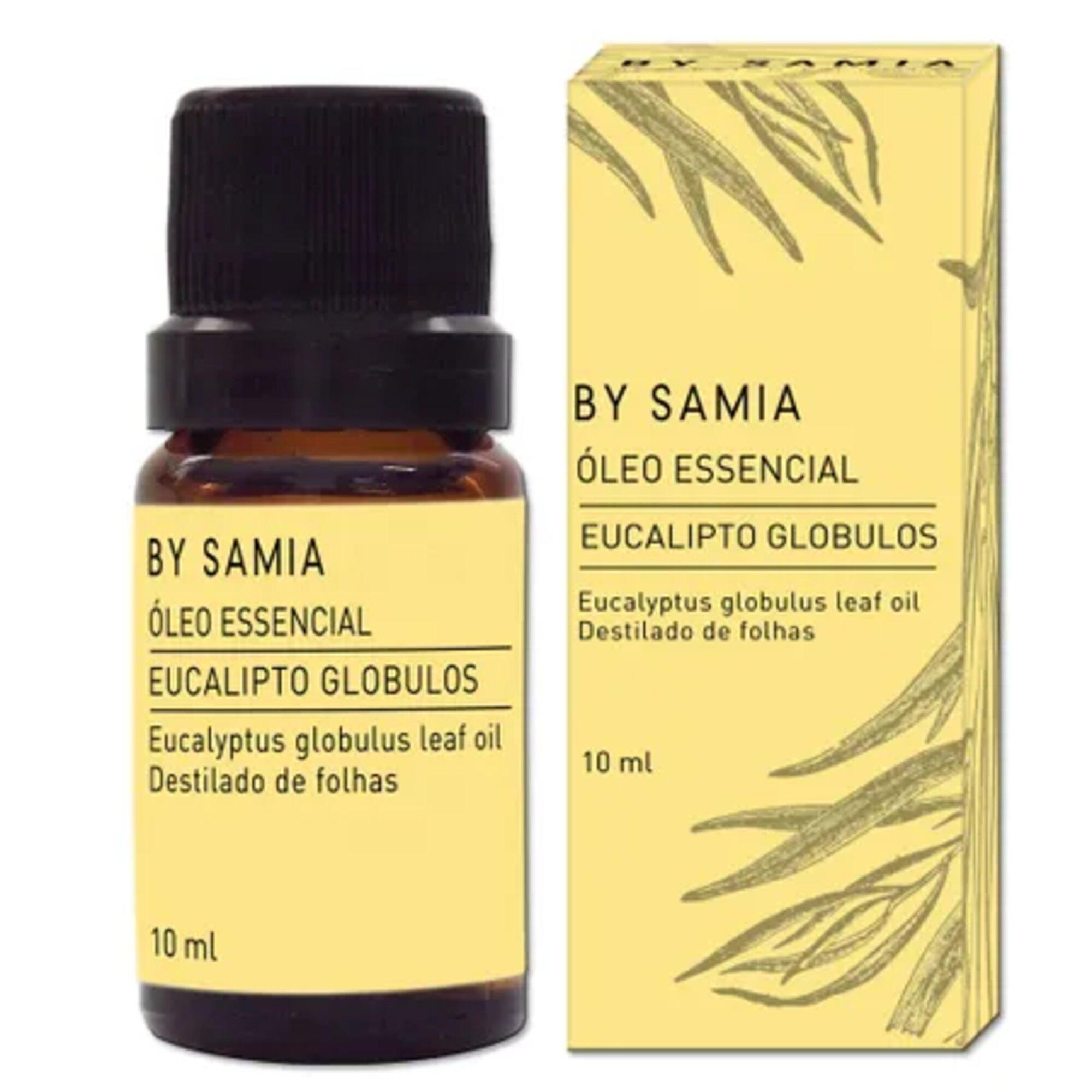 Óleo Essencial Eucalipto Globulos 10mL By Samia