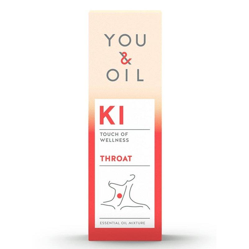 Óleo Essencial KI Dor de garganta 5mL You&Oil