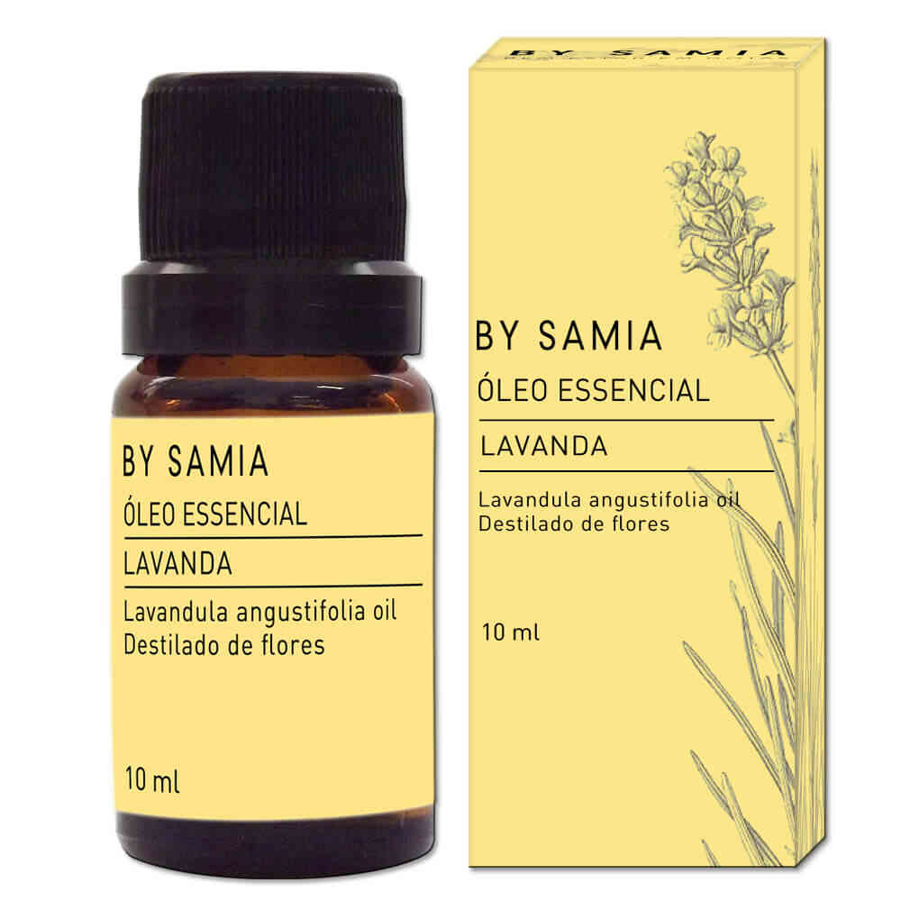 Óleo Essencial Lavanda 10mL By Samia
