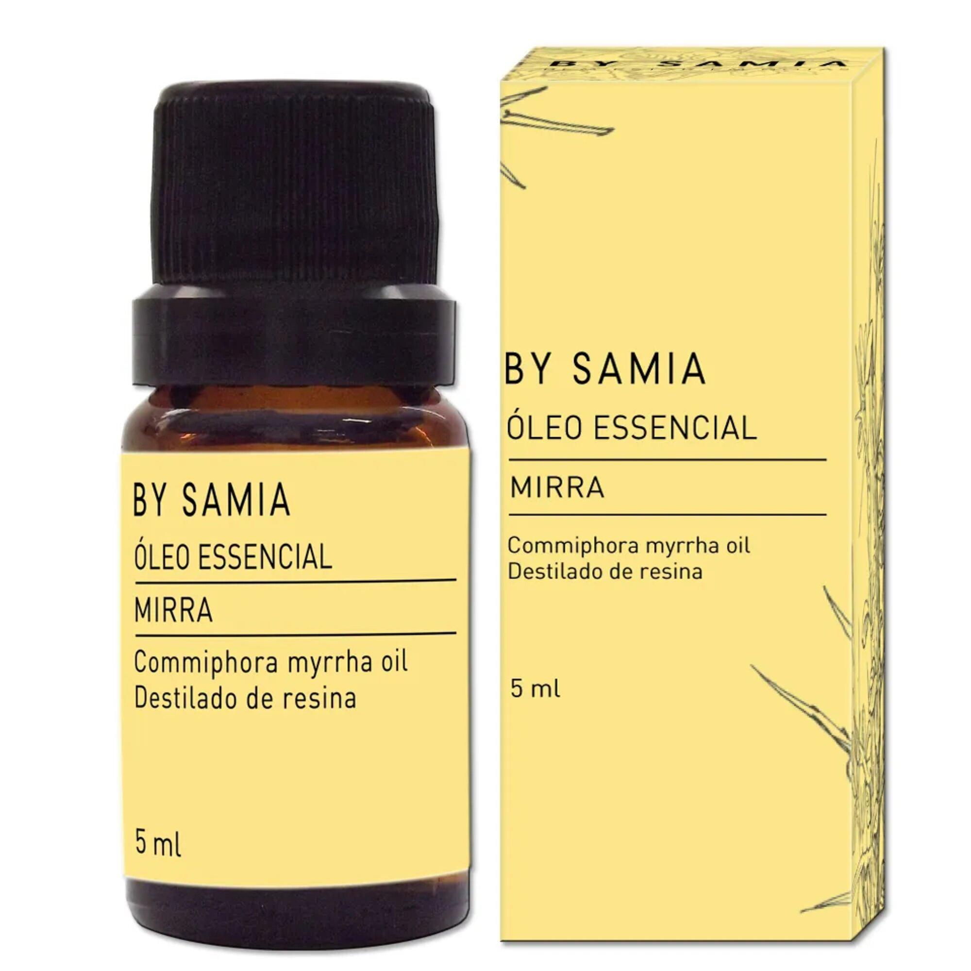 Óleo Essencial Mirra 5mL By Samia