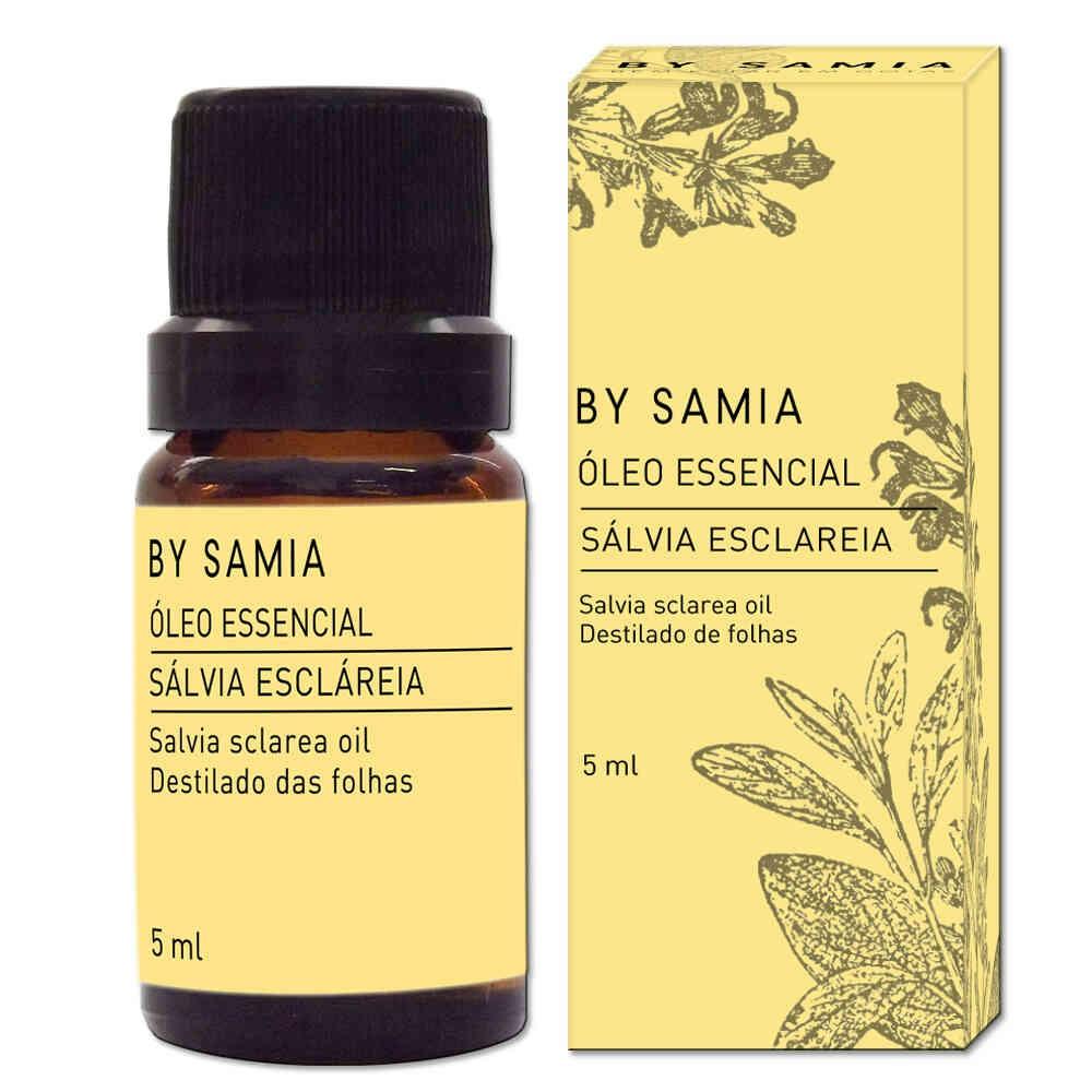 Óleo Essencial Sálvia Esclareia 5mL By Samia