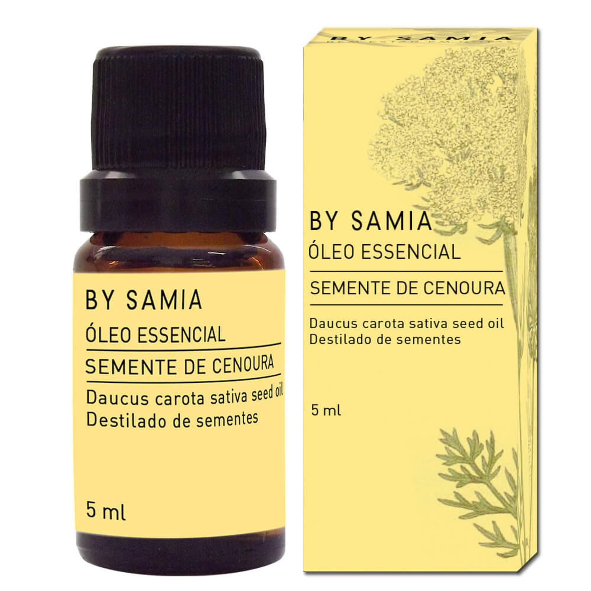 Óleo Essencial Semente Cenoura 5mL By Samia