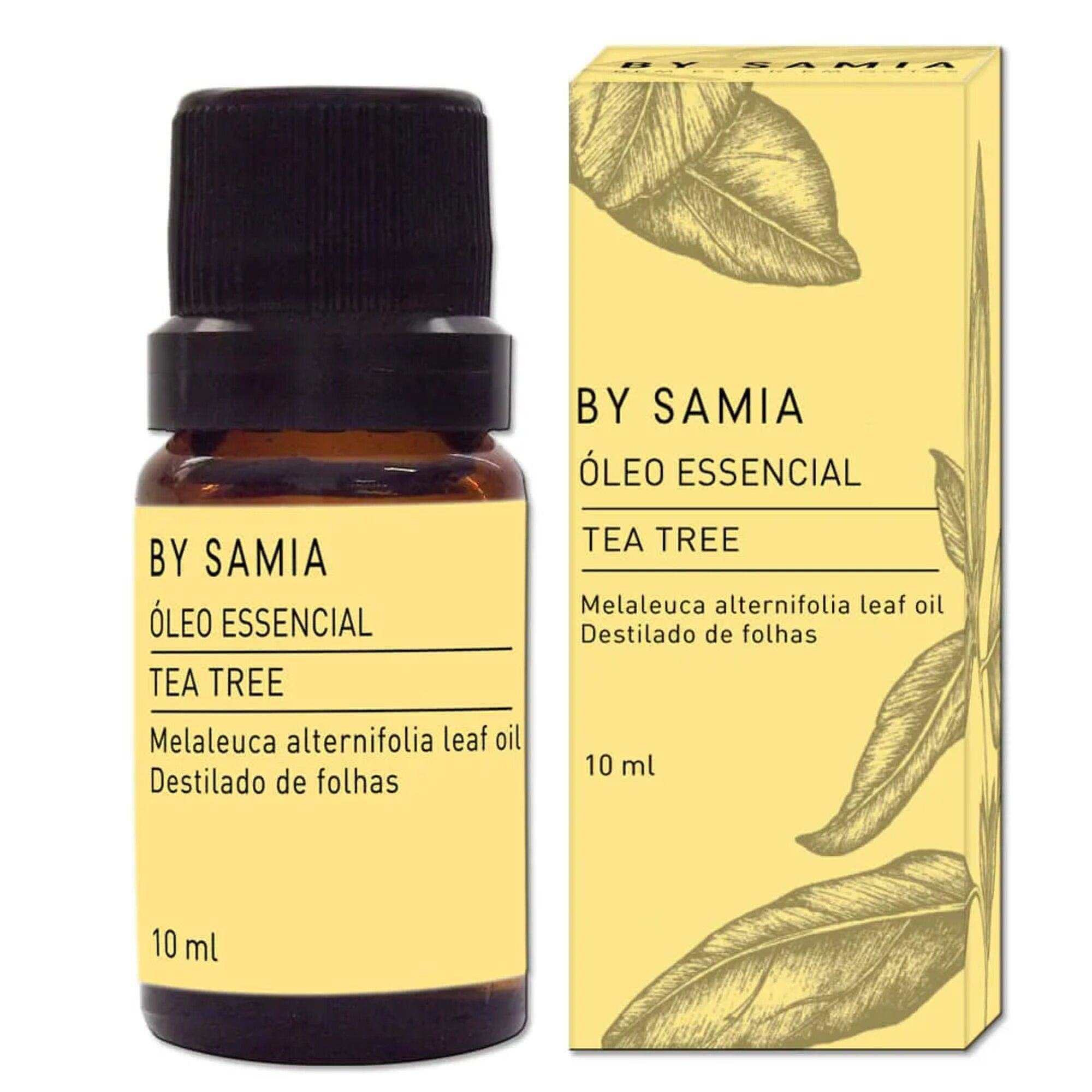 Óleo Essencial Tea Tree Melaleuca 10mL By Samia