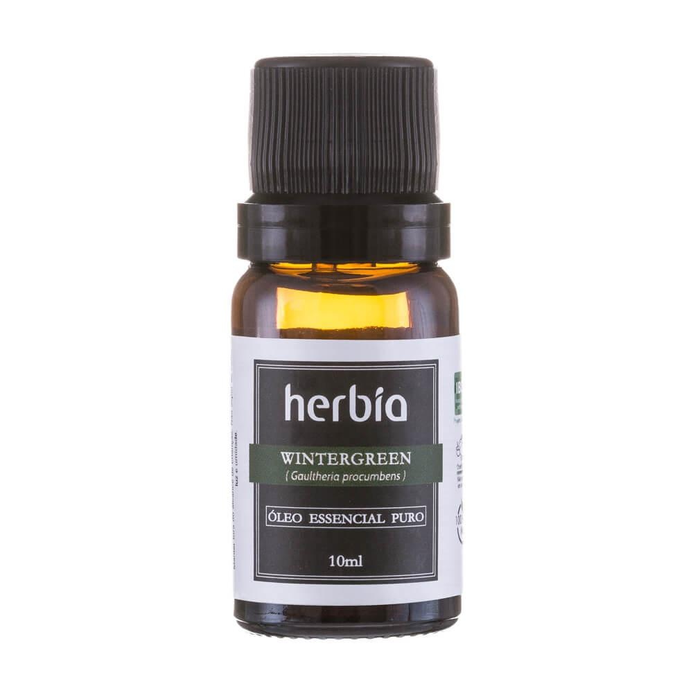 Óleo Essencial Wintergreen 10mL Herbia