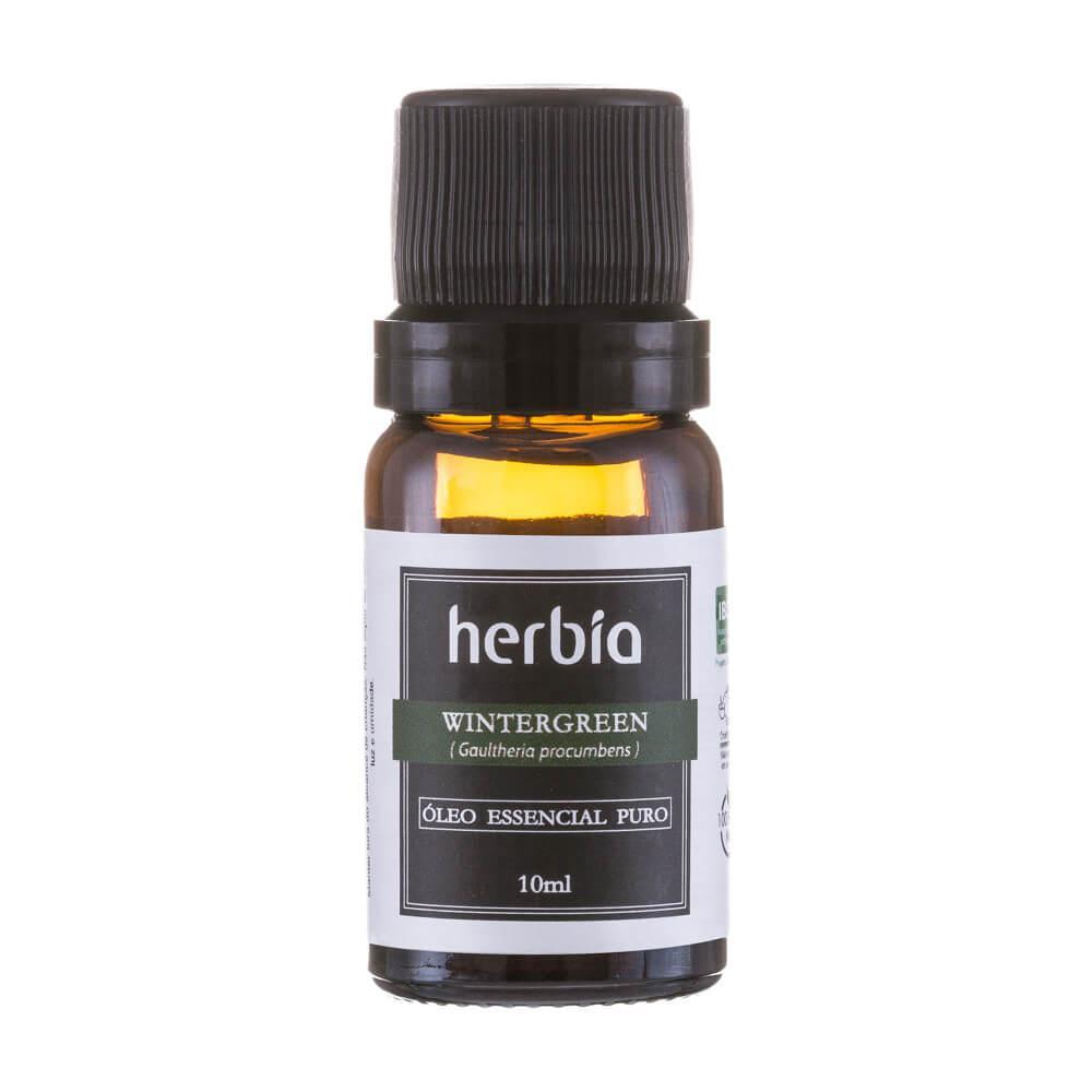 Óleo Essencial Wintergreen 10mL Herbia