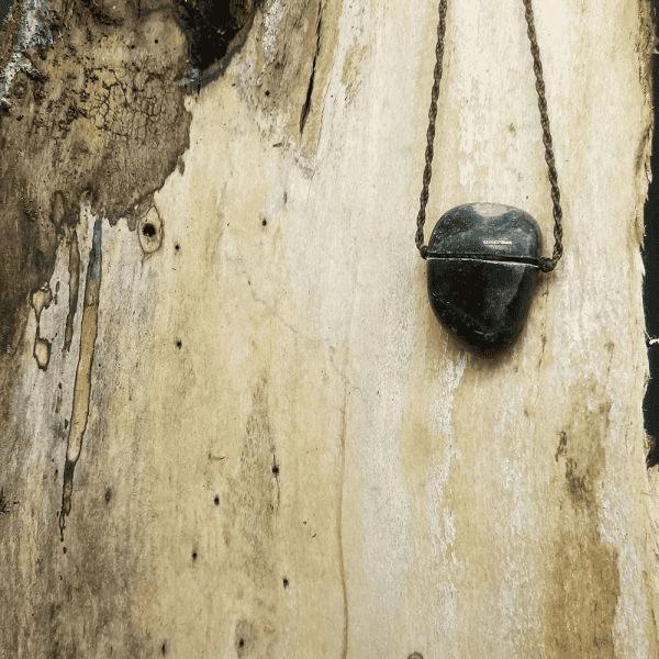 Perfumeira Pedra Mod Arred Quartzo Verde Pura Chuva