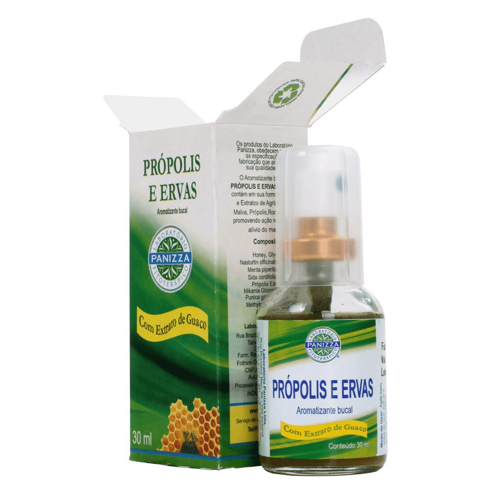 Própolis e ervas Spray 30mL Panizza