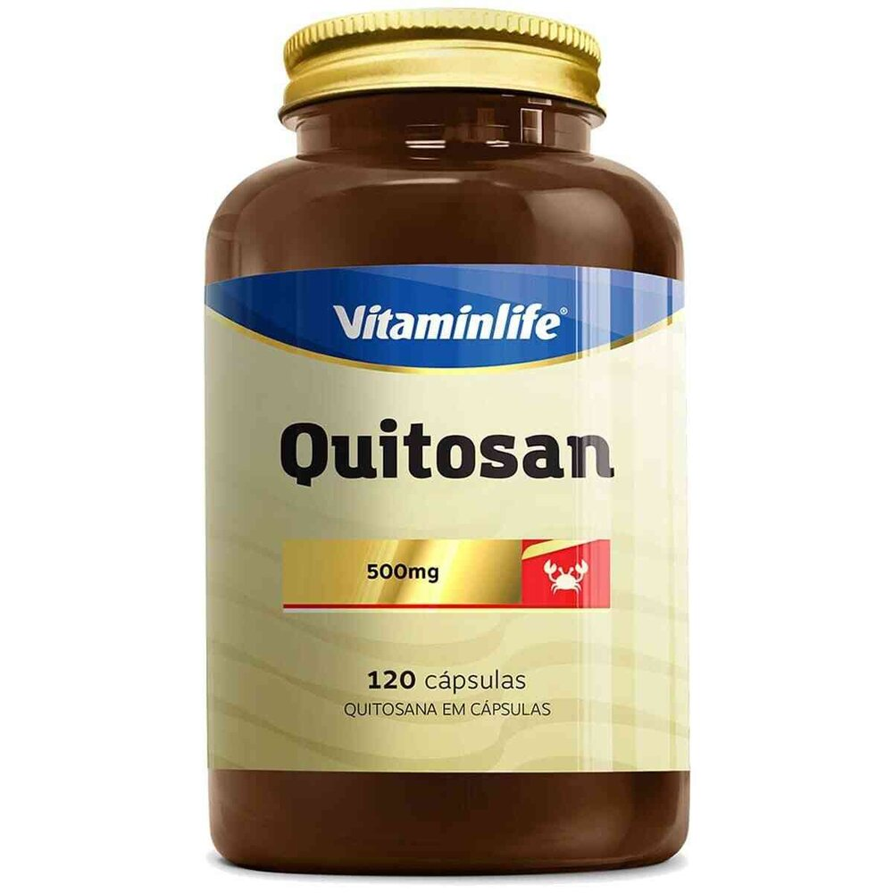 Quitosan  120 Cápsulas  Vitamin Life