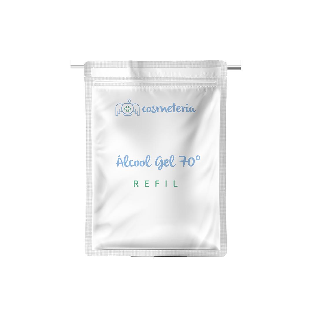 Refil Álcool Gel 500mL Cosmeteria