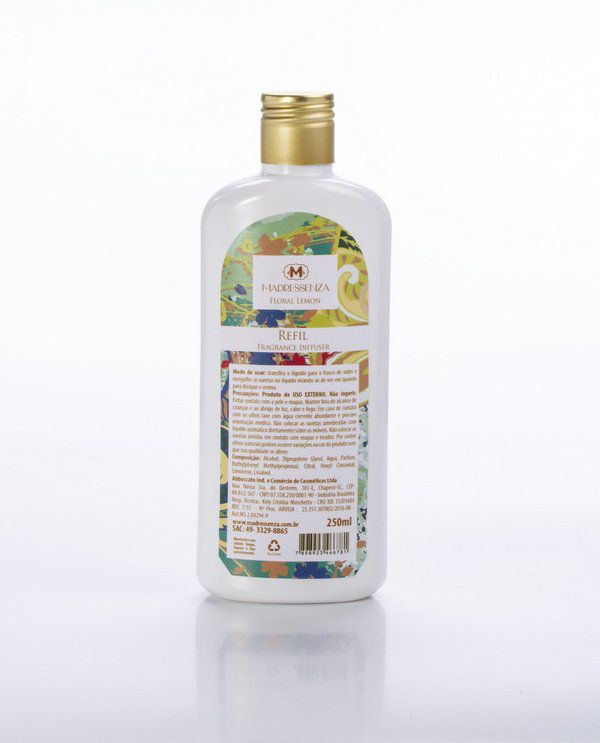 Refil Difusor Floral Lemon 250mL Madressenza