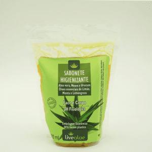 Refil Sabonete Higienizante 500mL Live Aloe