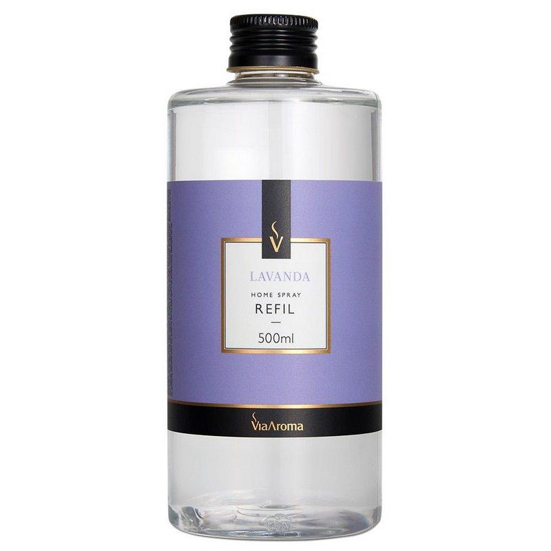 Refil Spray Home Lavanda 500mL Via Aroma