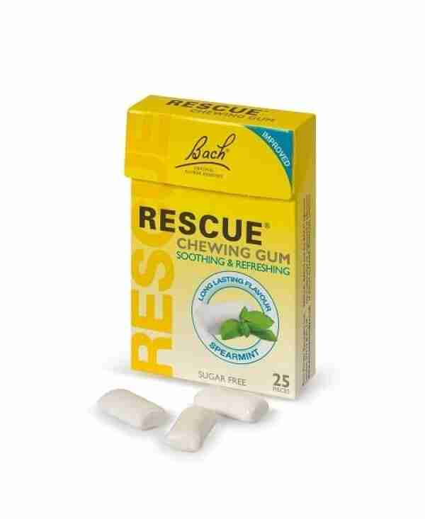 Rescue Goma Mascar Spearmint 25 Un