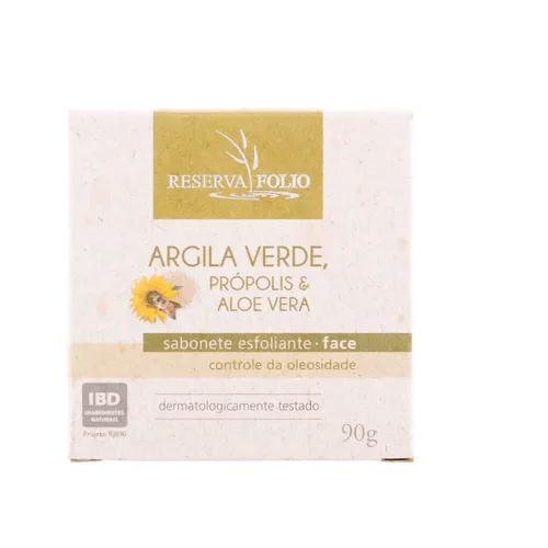 Sabonete Argila Verde 90g Reserva Folio