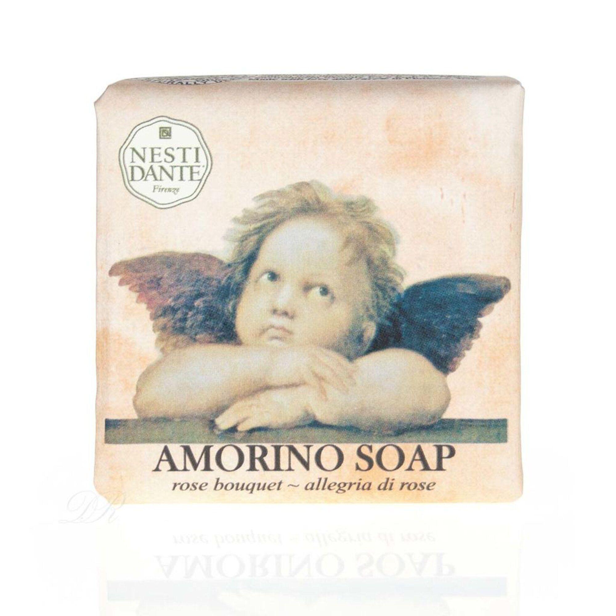 Sabonete Barra Amorino Allegria Di Rosa 150gr Nesti Dante