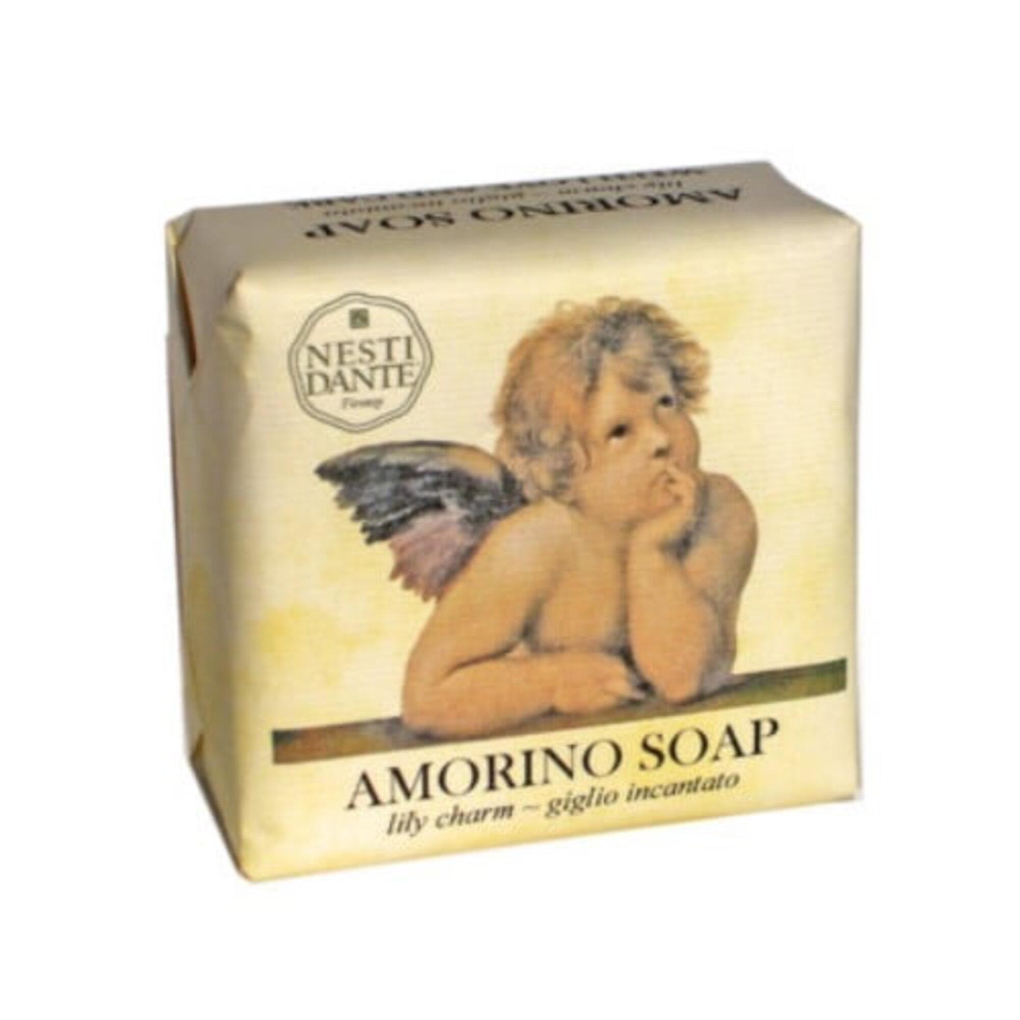 Sabonete Barra Amorino giglio Incantato 150gr Nesti Dante