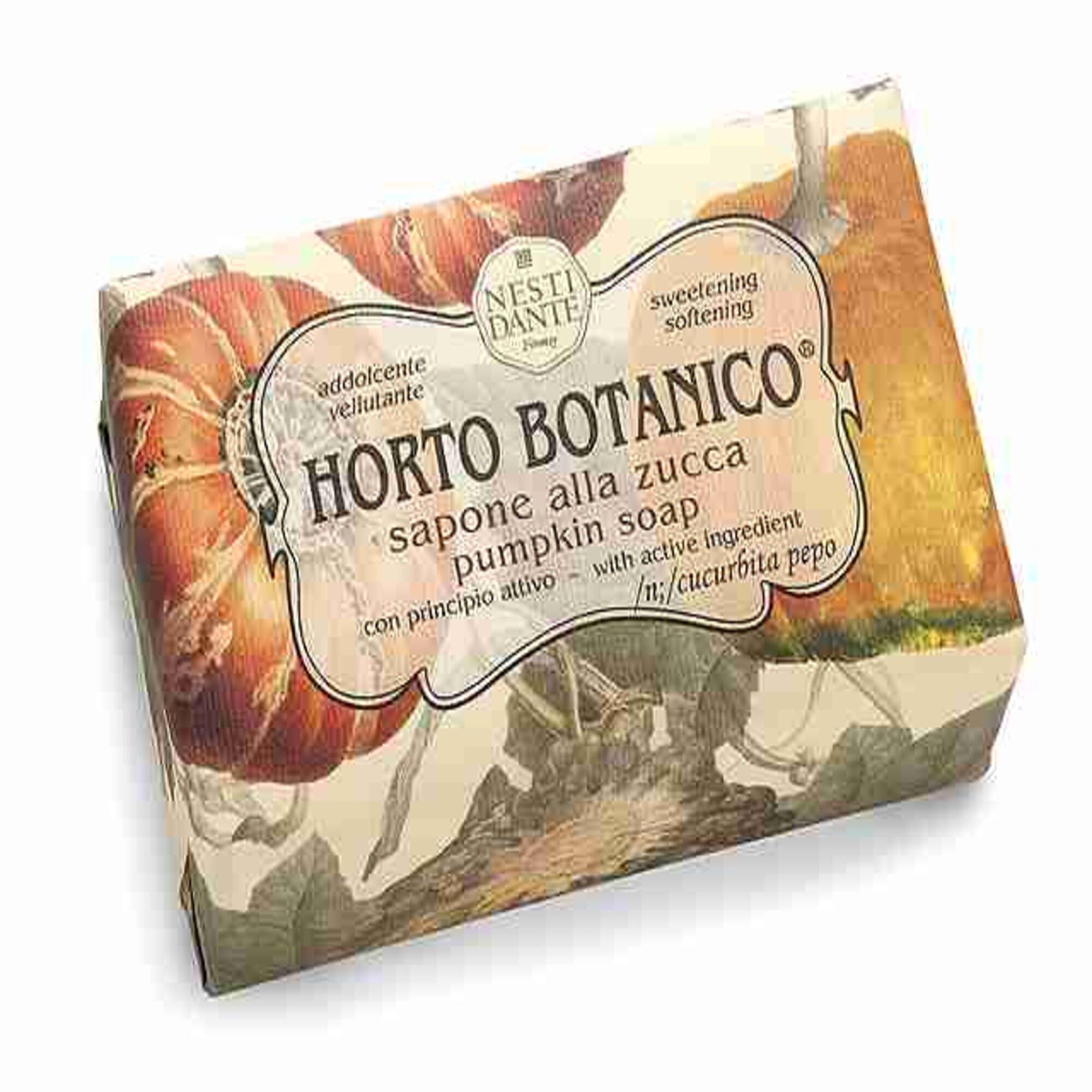 Sabonete Barra Horto Botanico Abóbora 250gr Nesti Dante