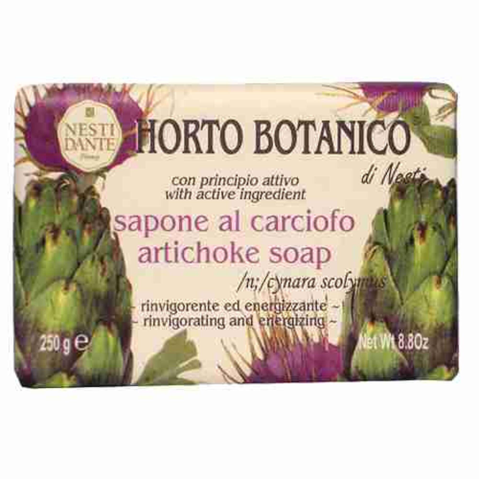 Sabonete Barra Horto Botanico Alcachofra 250gr Nesti Dante