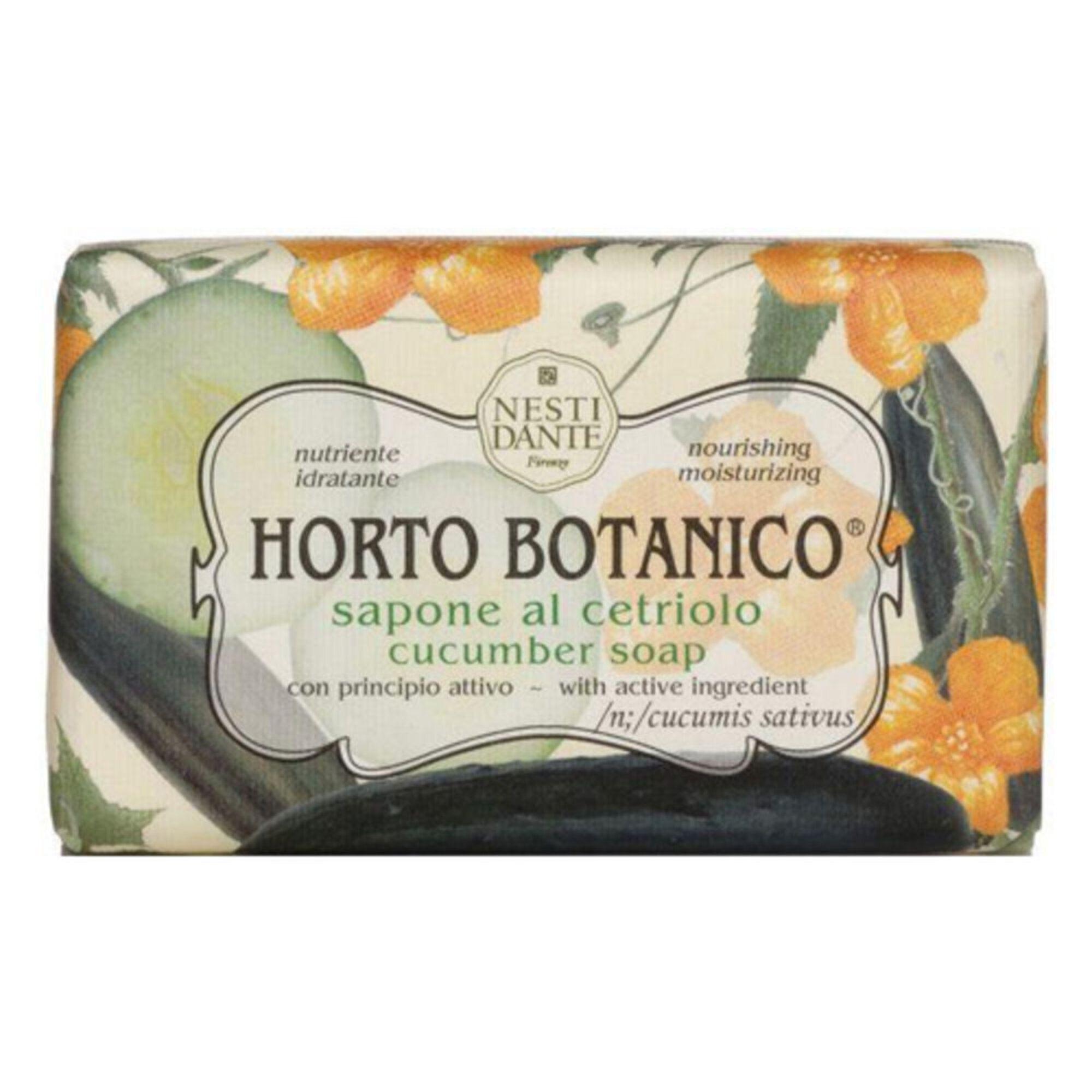 Sabonete Barra Horto Botanico Pepino 250gr Nesti Dante