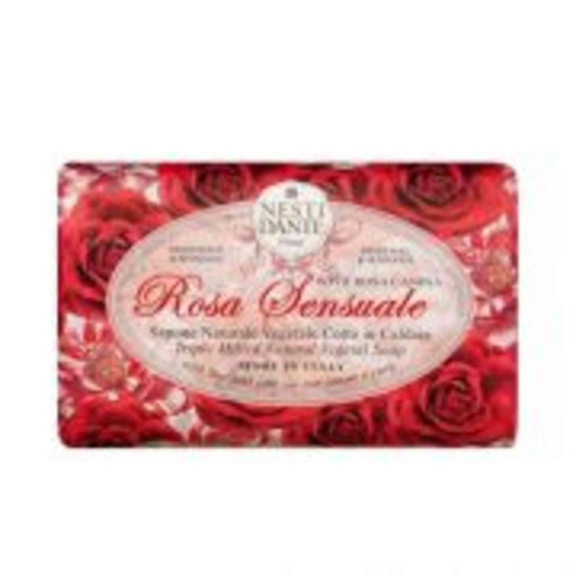 Sabonete Barra Le Rose Sensuale 150gr Nesti Dante