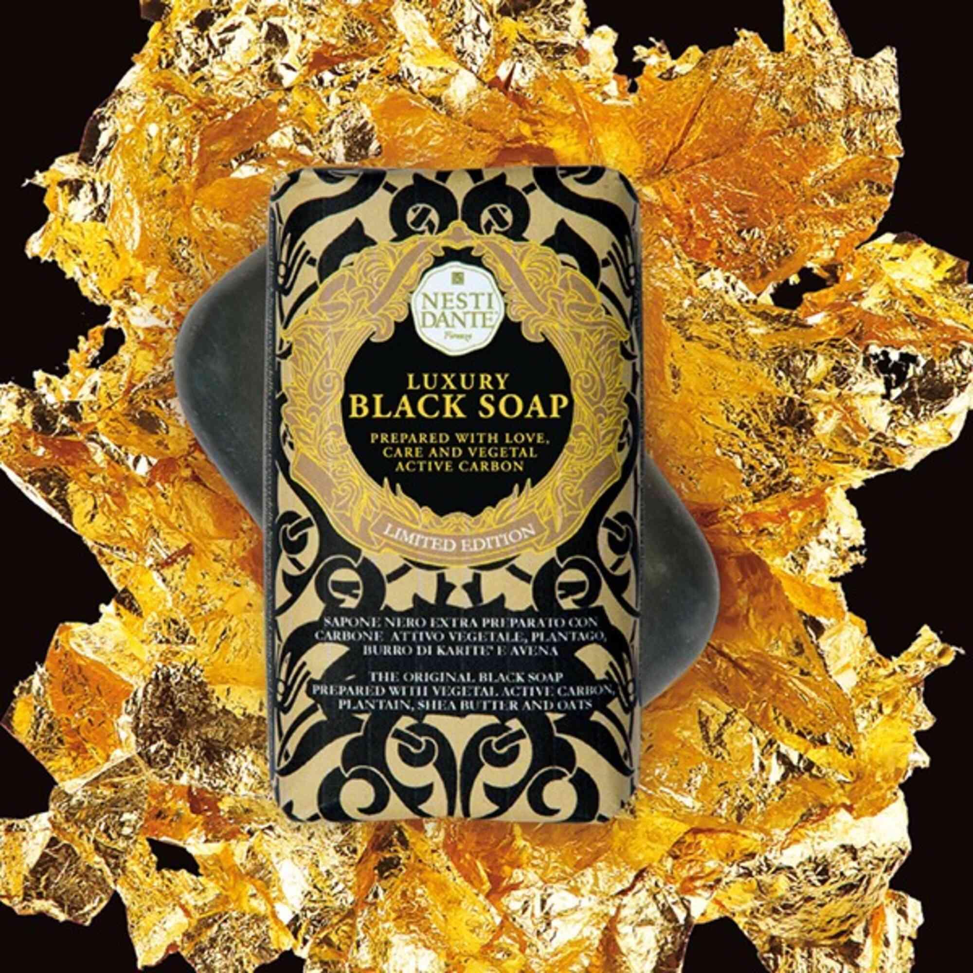 Sabonete Barra Luxury Black Soap 250gr Nesti Dante