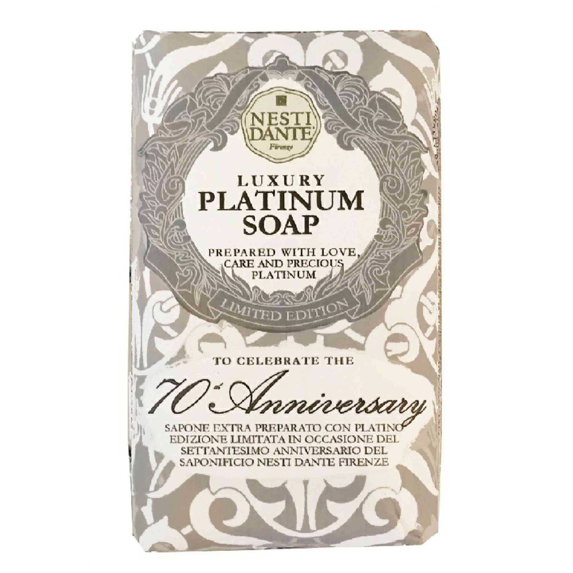 Sabonete Barra Luxury Platinum Soap 250gr Nesti Dante
