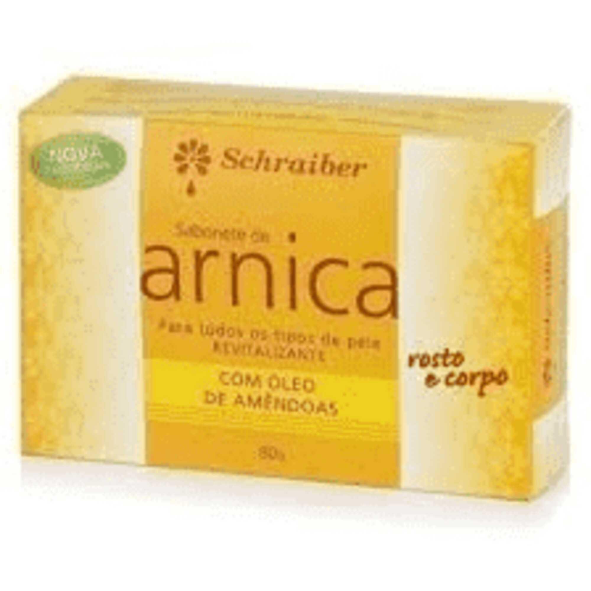 Sabonete de Arnica 80g Schraiber