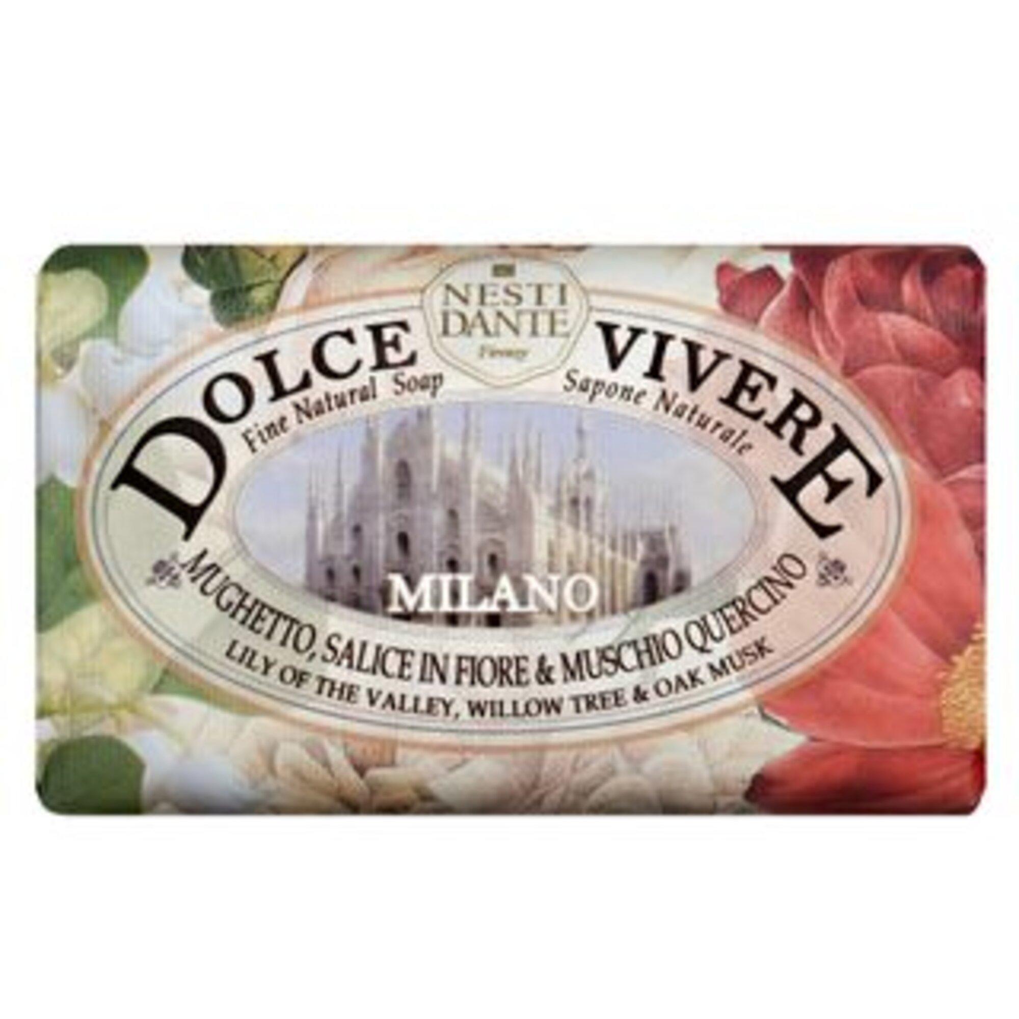 Sabonete Dolce Vivere Milano 250g Nesti Dante