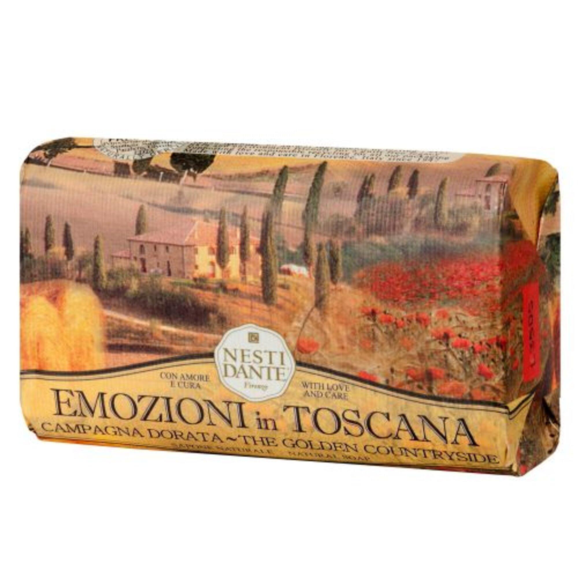 Sabonete Emozioni In Toscana Campo Dourado 250g Nesti Dante
