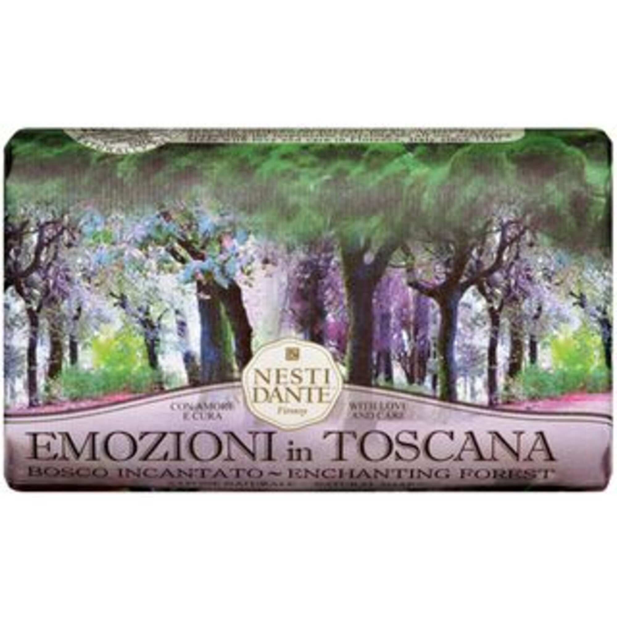 Sabonete Emozioni In Toscana Floresta Encantada 250g Nesti Dante