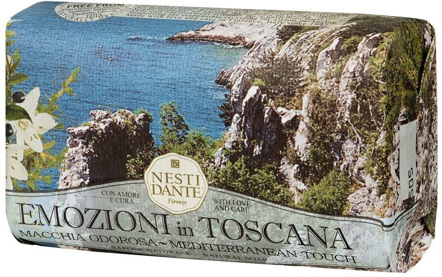 Sabonete Emozioni In Toscana Toque Mediterrâneo 250g Nesti Dante