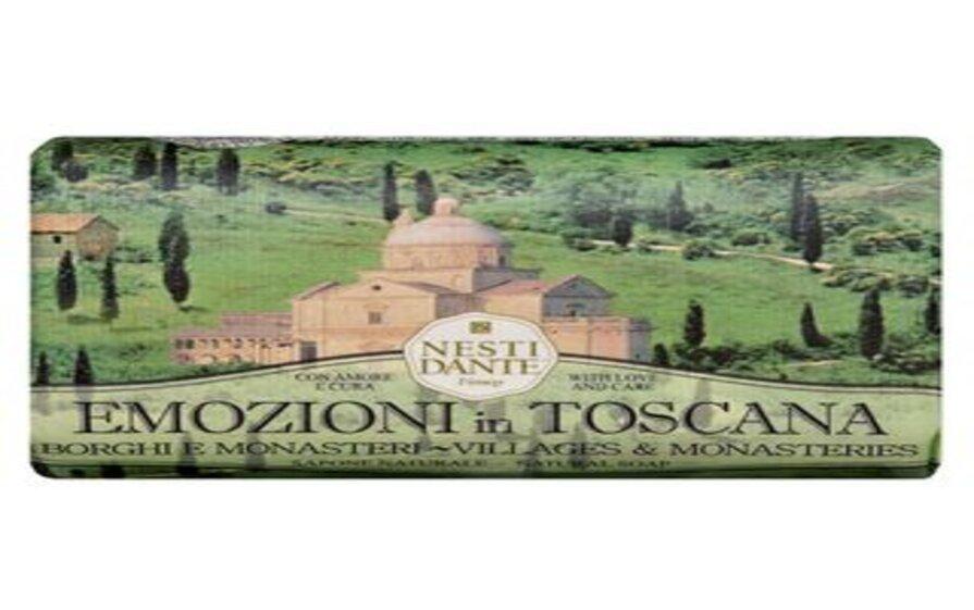 Sabonete Emozioni In Toscana Vilas e Monastérios 250g Nesti Dante