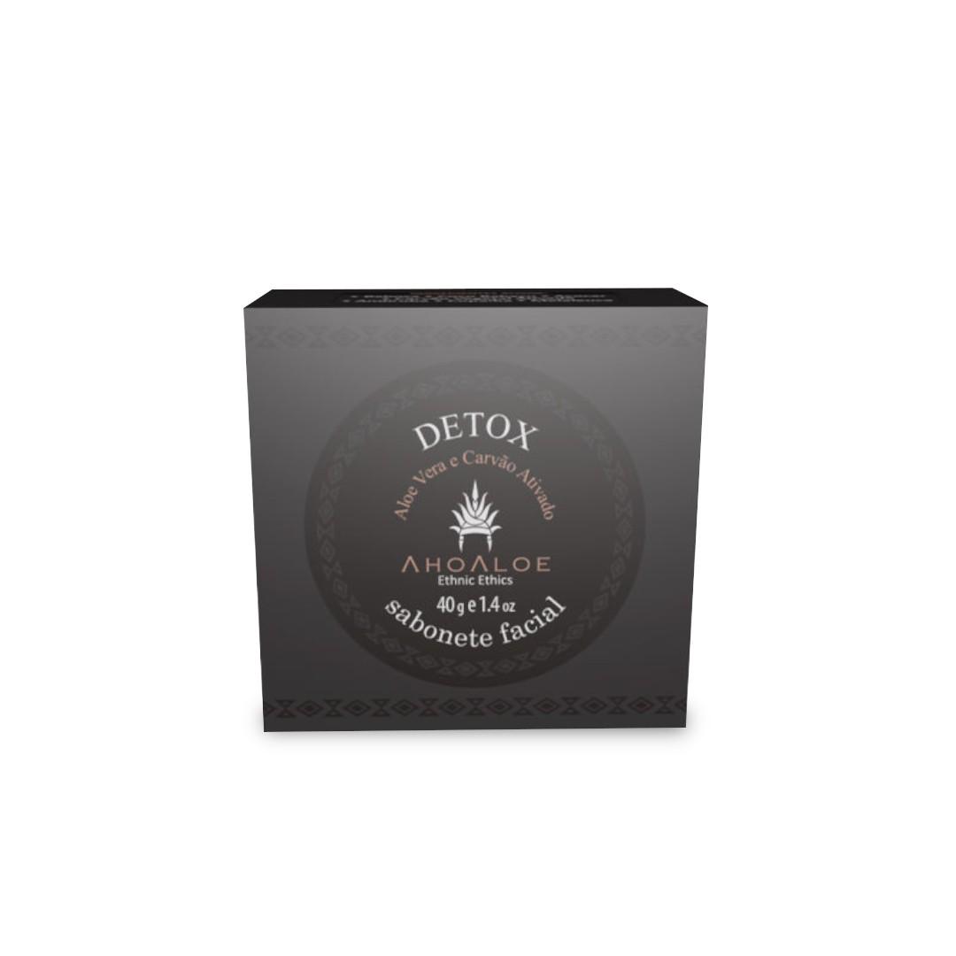 Sabonete Facial Detox 40g Ahoaloe