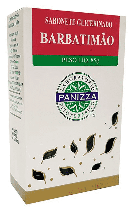 Sabonete Glicerinado Barbatimão 85g Panizza