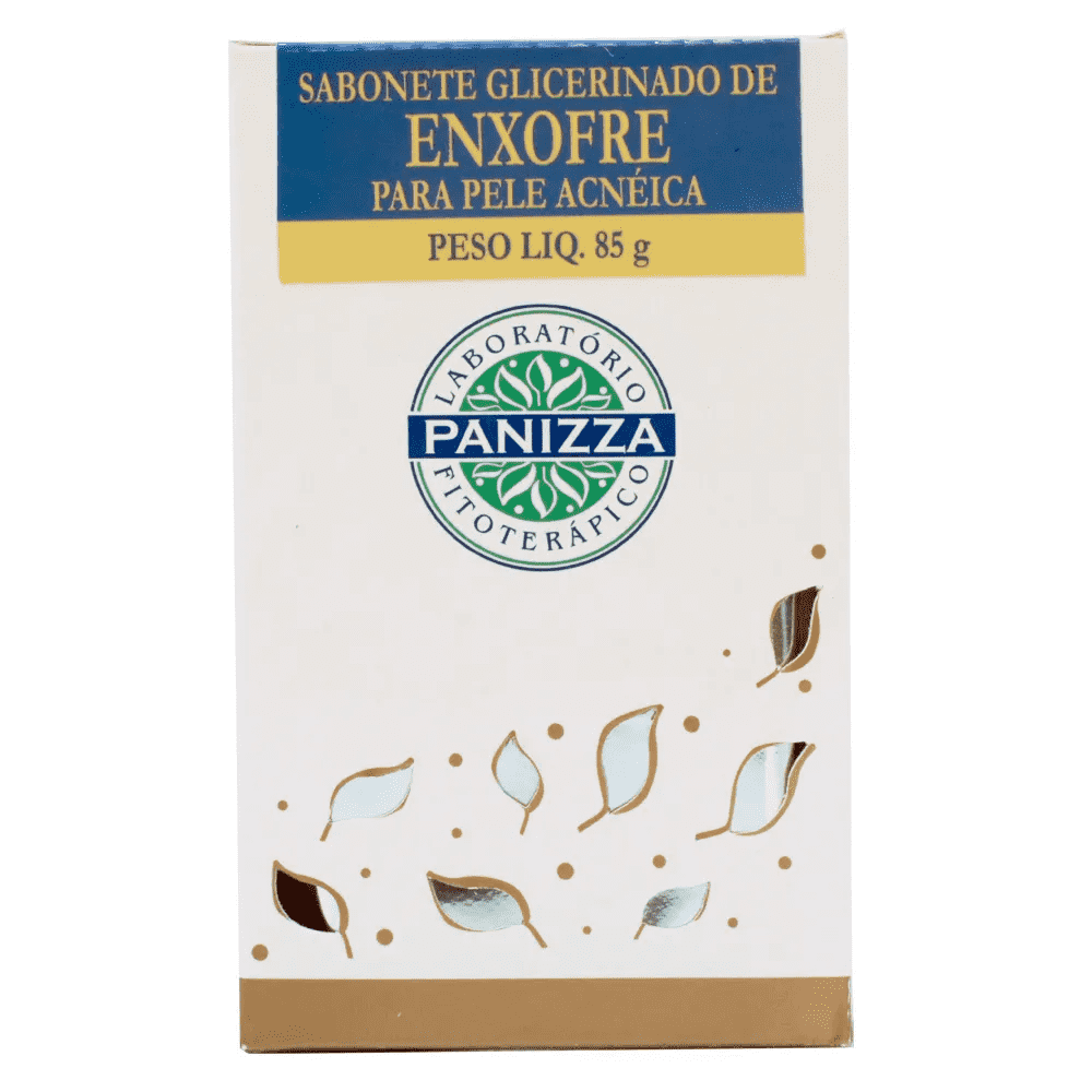 Sabonete Glicerinado Enxofre 85g Panizza