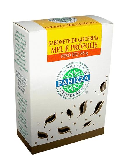 Sabonete Glicerinado Mel e Própolis 85g Panizza