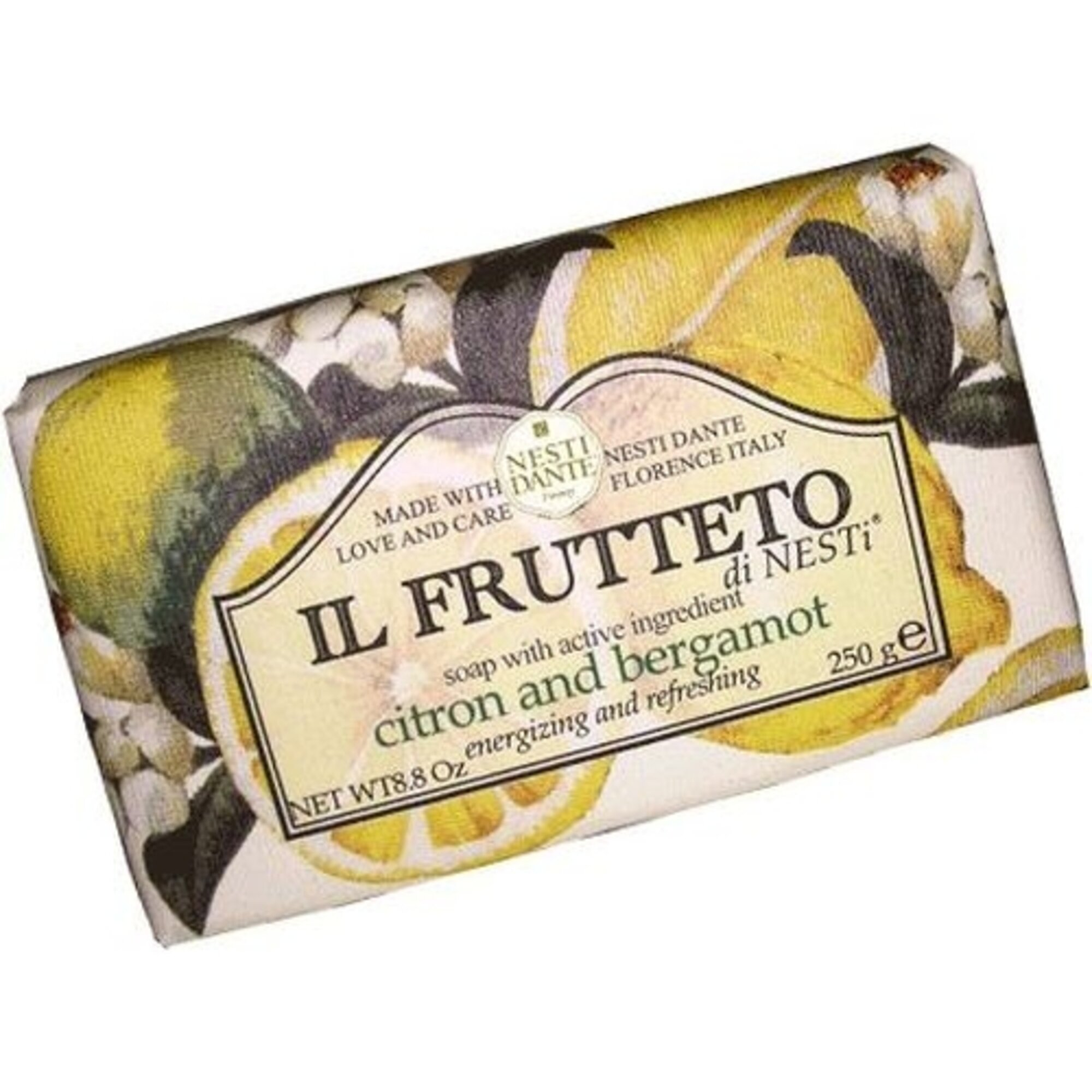 Sabonete Il Frutteto Cidra e Bergamota 250g Nesti Dante