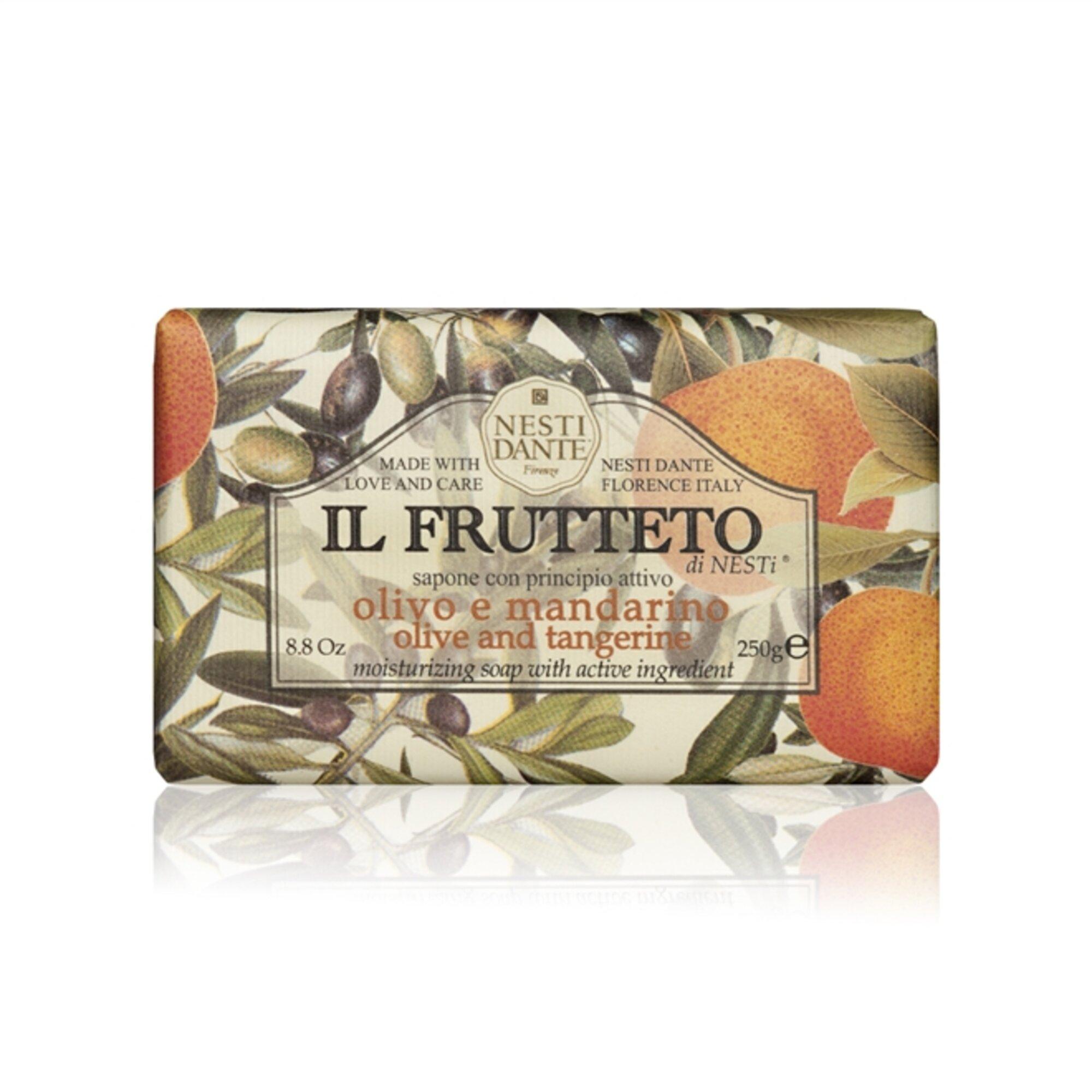 Sabonete Il Frutteto Oliva e Tangerina 250g Nesti Dante
