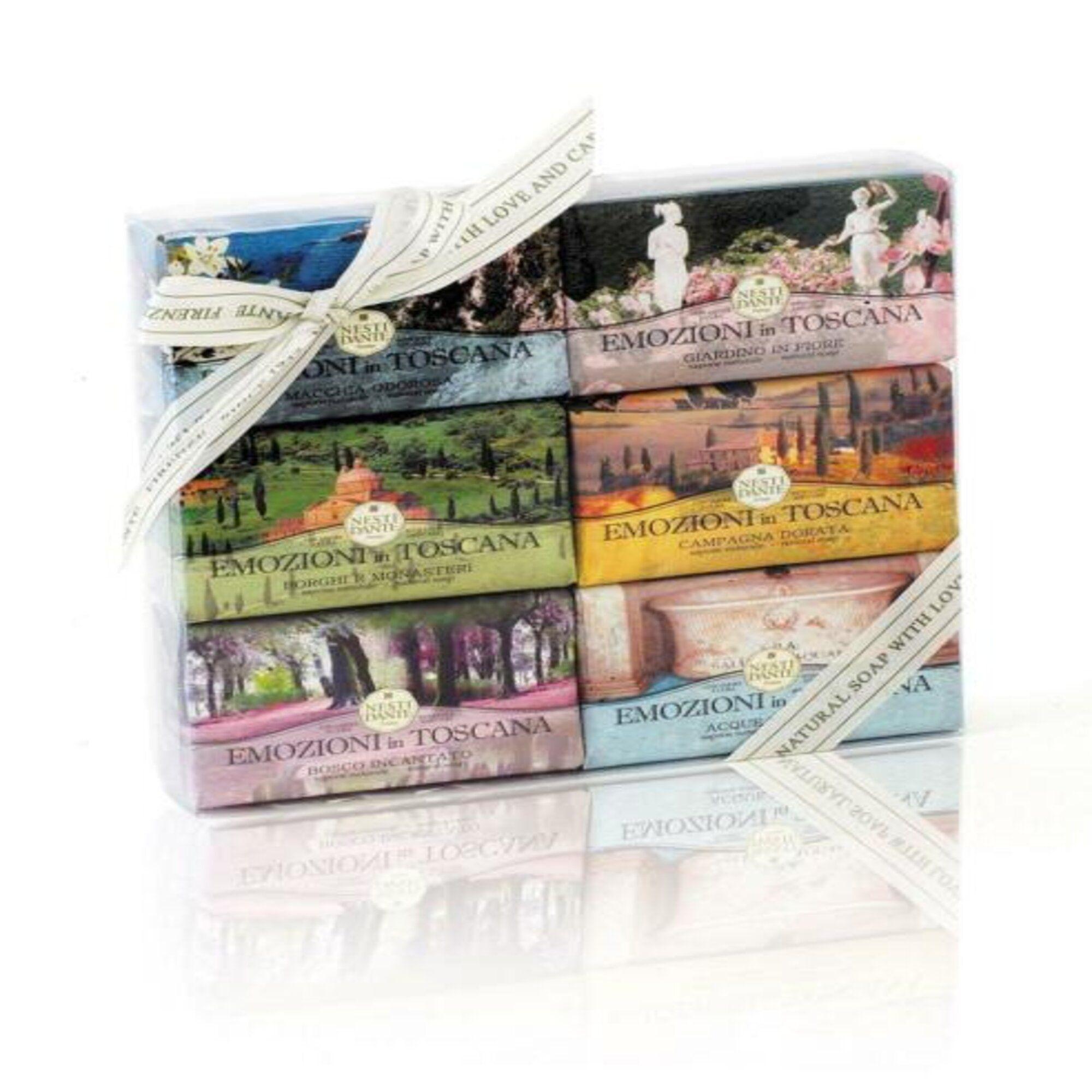 Sabonete Kit Collection Emozioni In Toscana 6 x 150gr Nesti Dante