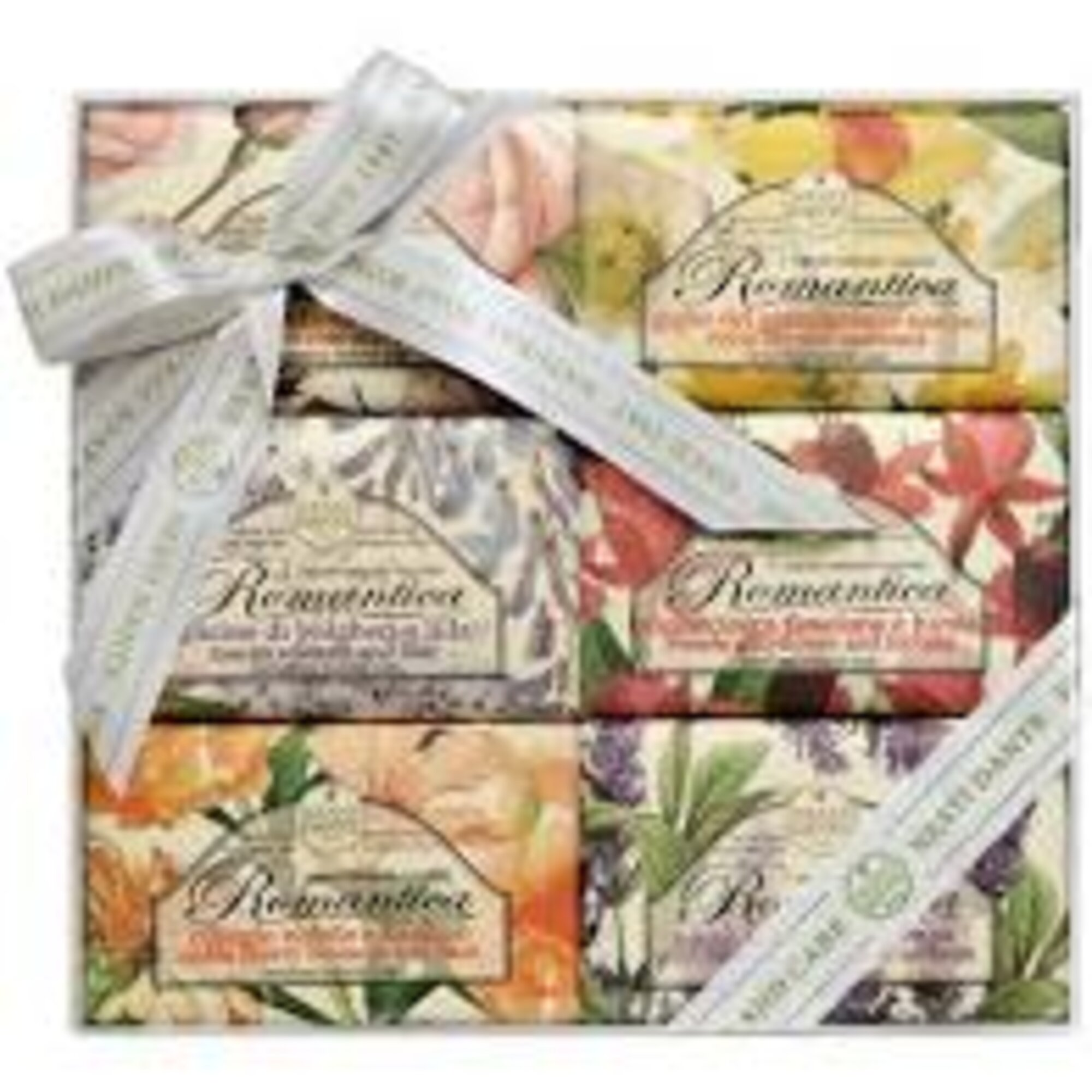 Sabonete Kit Collection Romantica 6 x 150gr Nesti Dante