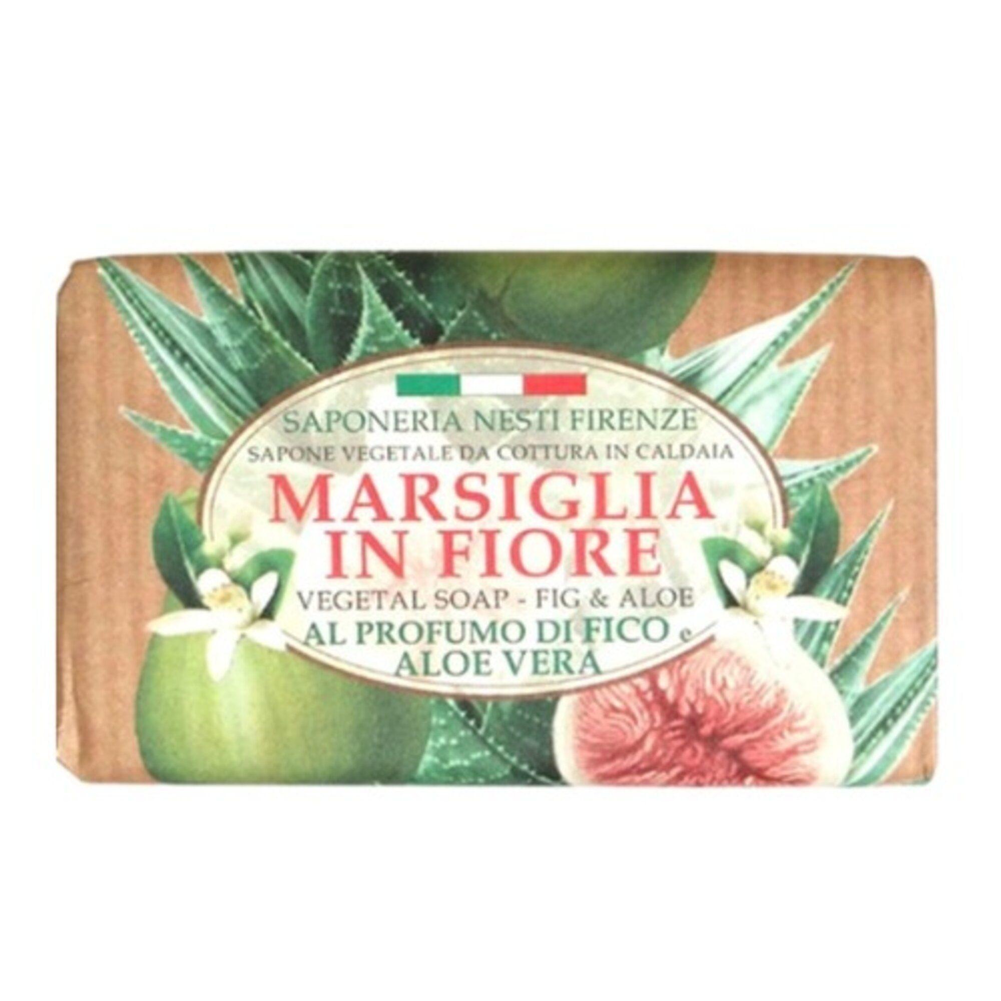 Sabonete Marsiglia In Fiore Figo e Aloe Vera 125g Nesti Dante