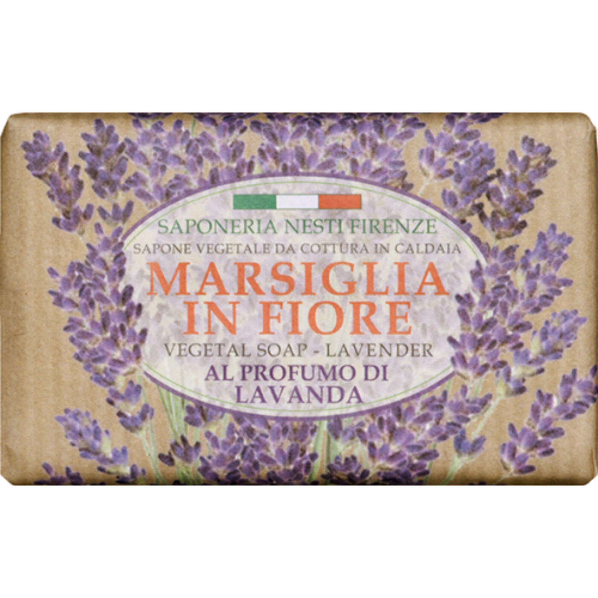 Sabonete Marsiglia In Fiore Lavanda 125g Nesti Dante