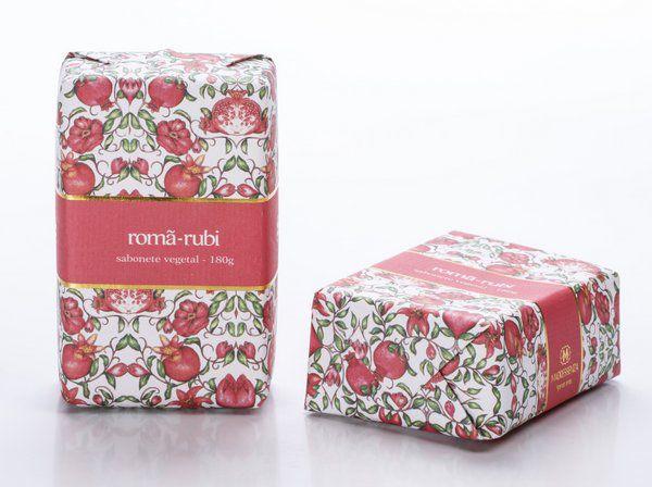 Sabonete Romã Rubi 180g Madressenza