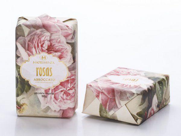 Sabonete Rosas 180g Madressenza