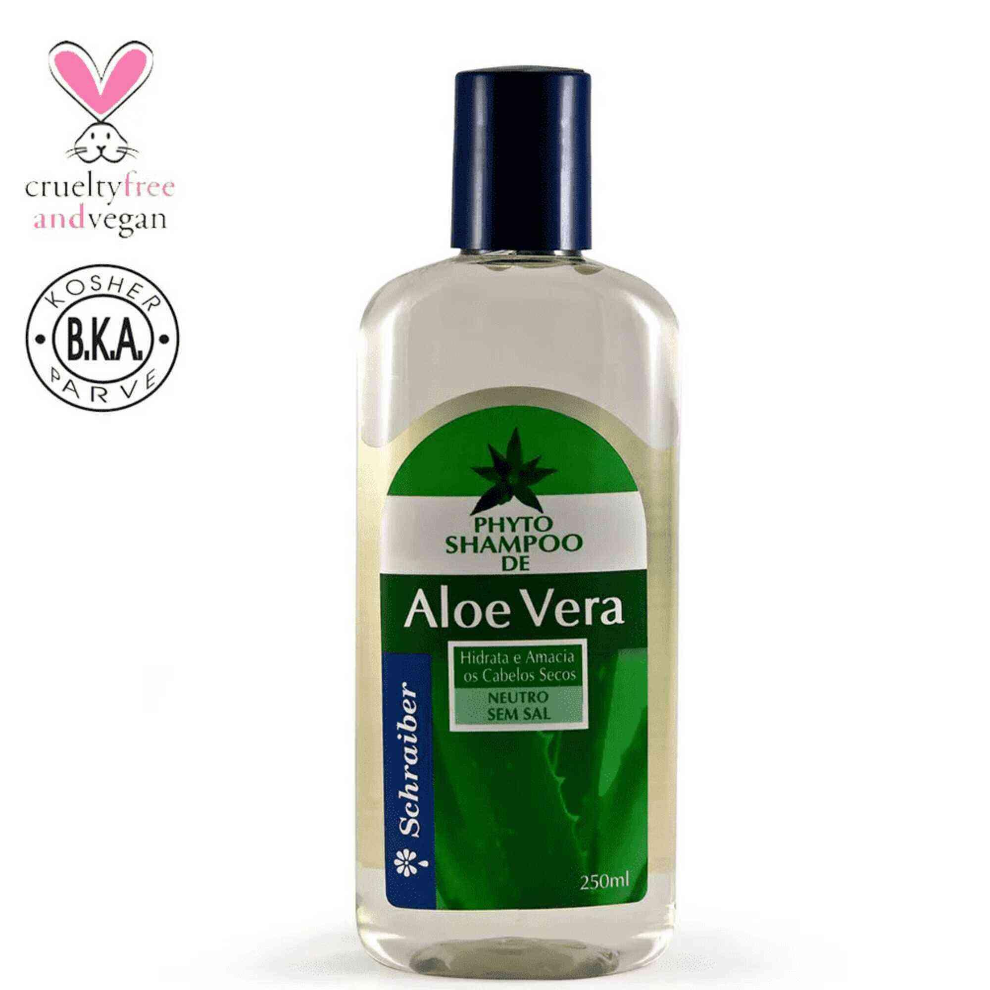 Shampoo Aloe Vera 250mL Schraiber