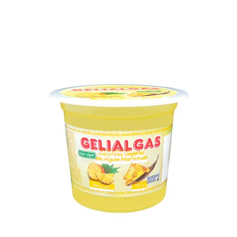 Sobremesa Abacaxi 140g Gelialgas