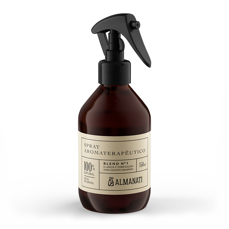 Spray Aromaterapêutico Blend 1 150mL Almanati
